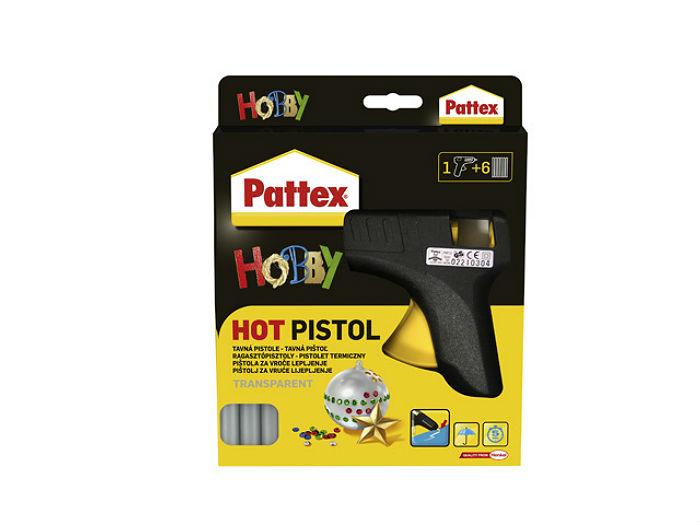 pistolet termiczny pattex hot pistol wed ug marek henkel kleje artyku y biurowe i szkolne. Black Bedroom Furniture Sets. Home Design Ideas