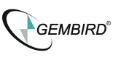 mikrofon Gembird MIC-205, elastyczny pałąk