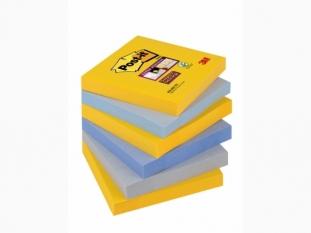 karteczki samoprzylepne 3M Post-it Super Sticky 654-6SS-NY 76x76 mm, 6x90 kartek, new york