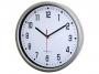 001045 - zegar ścienny ATE 2013 srebrny