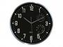 001085 - zegar ścienny Cep Thermo-hygro, 30 cm, czarny