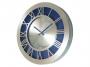00704009 - zegar ścienny Atrix Roman, aluminiowy