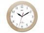 0070401_ - zegar ścienny Atrix ATW301RC1 drewniany, sterowany radiowo