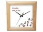 0070403_ - zegar ścienny Atrix Whatever, kwadratowy, różne wykończenia