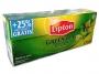 070056 - herbata zielona Lipton Clear Green Citrus 25 torebek