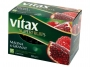 07007720 - herbata owocowa Vitax Superfruits malina i granat, kopertowana, 15 torebek