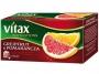 07007788 - herbata owocowa Vitax Inspirations grejpfrut pomarańcza, 20 torebek
