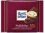 07119307 - czekolada mleczna RitterSport Halbbitter, ciemna klasyczna, 100 g