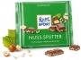 07119319 - czekolada mleczna RitterSport Nuss - Splitter mleczna z orzechami laskowymi, 100 g