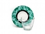 0800568_ - filiżanka szklana Dilmah Exceptional, z porcelanowym spodkiem