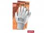 085004_ - rękawice ochronne REIS RNYPO, powlekane, białe, 12 par/op.Towar dostępny do wyczerpania zapasów u producenta