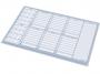 1152201 - podkładka na biurko 470x330 mm Panta Plast kalendarz tygodniowy na biurko, planer, terminarz 470x330 mm, wkład papierowy, 30 kartek