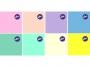 121030_ - serwetki papierowe AHA 33x33 cm kolory pastelowe 20 szt./op.
