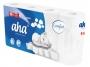 122301 - papier toaletowy AHA Comfort 3 warstwowy biały, 64 szt/worek