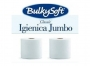 122509 - papier toaletowy BulkySoft Jumbo Estrax 2-warstwowy, gładki, centralne dozowanie, rolka 200 m