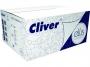 126093 - ręczniki papierowe składane ZZ Cliver Ellis Professional, białe, 2-warstwowe, 3000 listków/op.