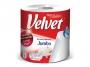 126128 - ręczniki papierowe w roli Velvet Jumbo 2 - warstwowy, 1 rolka