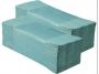 126226 - ręczniki papierowe składane ZZ Merida  zielone, 4000 szt./op.