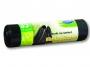 1513901 - worki na śmieci 35l Stella Ekologiczne LDPE , z taśmą ściągającą, czarne 15 szt./rol.