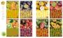 2115400 - zeszyt A4 w kratkę Pigna Fruits 42 kartki, mix 8 szt./op.