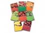 2115421 - zeszyt A5 w kratkę Pigna Fruits 60 kartek, mix 8 szt./op.