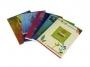 23004 - zeszyt A5 gładki  80 kartek, czysty, okładka miękka