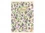 28150_ - kołonotatnik A4 w kratkę Pigna  Nature Flowers, oprawa miękka, 135 kartek