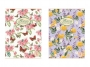 281592_ - kołonotatnik A5 w linię Pigna Nature Flowers 60 kartek, 2 szt./op.