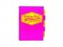 281___ - kołonotatnik A4 w linię Pukka Pad Project Book Neon , 200 kartek, 3 szt./op.