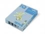 323316 - papier do drukarek i kopiarek kolorowy A4 80g IQ OBL70, pastelowy błękitny, kserograficzny, 500 ark./op.