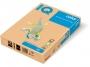 3233170 - papier do drukarek i kopiarek kolorowy A4 160g IQ SA24, pastelowy łososiowy, kserograficzny, 250 ark./op.