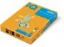 3233200 - papier do drukarek i kopiarek kolorowy A4 160g IQ OR43, intensywny pomarańczowy, kserograficzny, 250 ark./op.