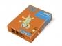 323320 - papier do drukarek i kopiarek kolorowy A4 80g IQ OR43, intensywny pomarańczowy, kserograficzny, 500 ark./op.