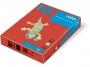 3233210 - papier do drukarek i kopiarek kolorowy A4 160g IQ CO44, intensywny czerwony, kserograficzny, 250 ark./op.