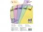 3252631 - papier do drukarek i kopiarek kolorowy A4 80g Gimboo mix 5 kolorów pastelowych, 100 ark./op.