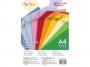 3252632 - papier do drukarek i kopiarek kolorowy A4 80g Gimboo mix 10 kolorów, 100 ark./op.