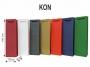 375010_ - torebka papierowa, ozdobna T-KON  135 x 340 x 95 mm, 120g