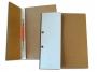 4101840 - skoroszyt kartonowy oczkowy 1/2, A4 Warta biały