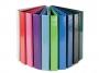 411418a__ - segregator prezentacyjny ofertowy A4 Panta Plast Panorama Fokus pastelowy szerokość grzbietu 80 mm, na 4 ringi typu D
