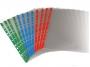 4130991 - koszulka na dokumenty A4 Biurfol Prestige, kształt U, groszkowa, PVC, kolorowa perforacja, mix kolorów, 10 szt./op.Towar dostępny do wyczerpania zapasów u producenta!!