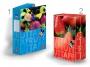 415472_ - teczka z gumką B4 kartonowa Pigna Fruits 7 cm