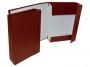 415950_ - teczka z gumką A4 kartonowa Warta szeroka 70 mm