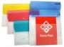 416386__ - teczka Panta Plast A4 PP Focus F4429, 5 rozsuwanych przegródek, bezbarwna z kolorową klapką