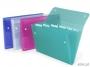 416403 - teczka harmonijkowa Rexel ICE Expanding Files PP z 6 przegródkami A4 mix kolorów 10szt.Towar dostępny do wyczerpania zapasów!!