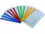 4165151p - teczka na suwak A4 Deli ZippBag PVC, 180mic, 009076 12 szt./op.