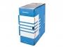 41704841 - pudło archiwizacyjne Donau A4, karton o szer. 155 mm, niebieski
