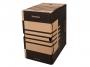 41704842 - pudło archiwizacyjne Donau A4, karton o szer. 200 mm, brązowy