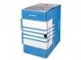 41704843 - pudło archiwizacyjne Donau A4, karton o szer. 200 mm, niebieski
