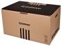 41704852 - pudło archiwizacyjne Donau otwierany z przody, karton o wym. 360x555x315 mm brązowy