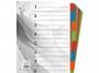 41911 - przekładki do segregatora A4 kartonowe Warta 8 kart